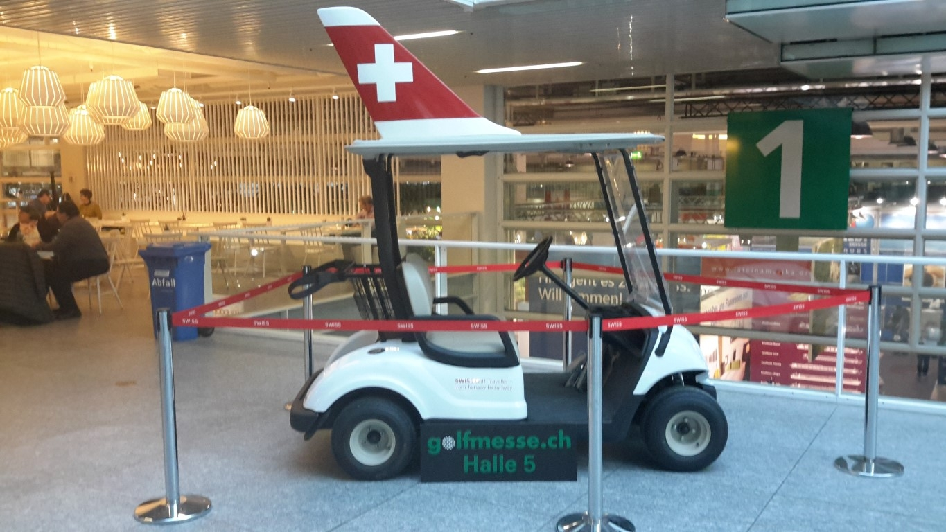 Der SWISS Golf Cart
