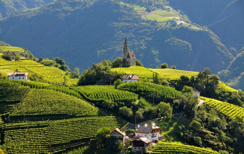 St. Georgen über Bozen, Südtirol, Italien