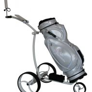 golfomania Trolley Fairwaybuddy white
