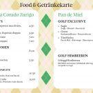 Gastro-Angebot an der Golfmesse
