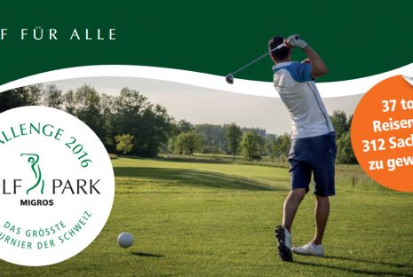 Ausschreibung Golfpark Challenge