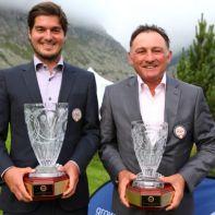 Corsin Caviezel und Franco Li Puma sind die neuen Swiss PGA Champions