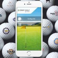 expert golf Logoballsammlung