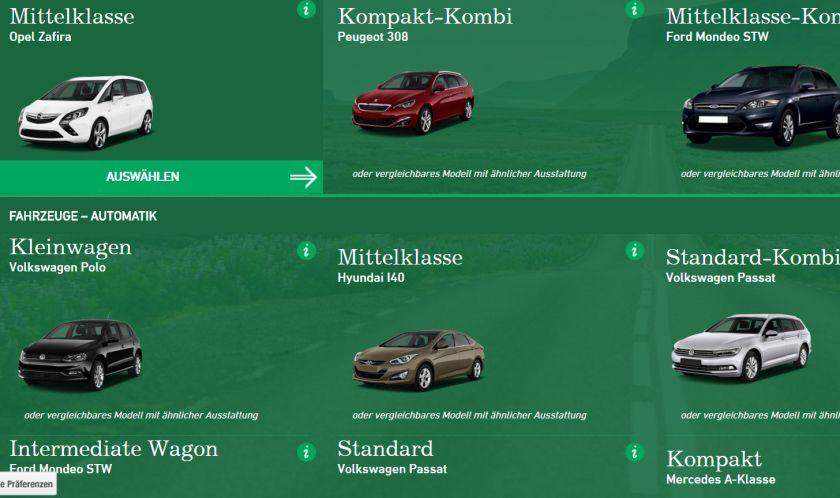 Hertz Autovermietung Weltweit