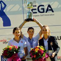 Europameisterschaft Damen Lausanne 2017 Siegerinnen