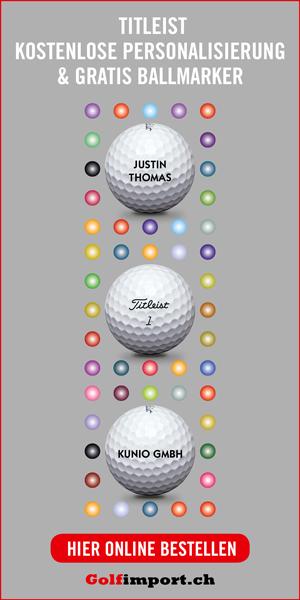 GolfImport Half Page Titleist personalisierte Bälle