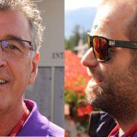 Hans-Peter Schild und Andreas Cadisch Migros GolfCard