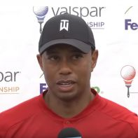 Tiger Woods Valspar championship 18