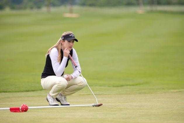 Chloe Leurquin VP Bank Ladies Open