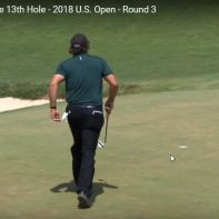 Phil Mickelson Ball in Bewegung2