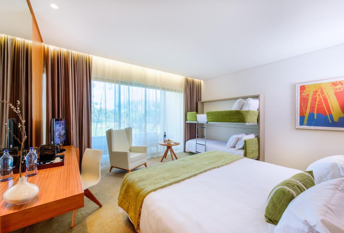 Martinhal Cascais Hotelzimmer mit Kajütenbett