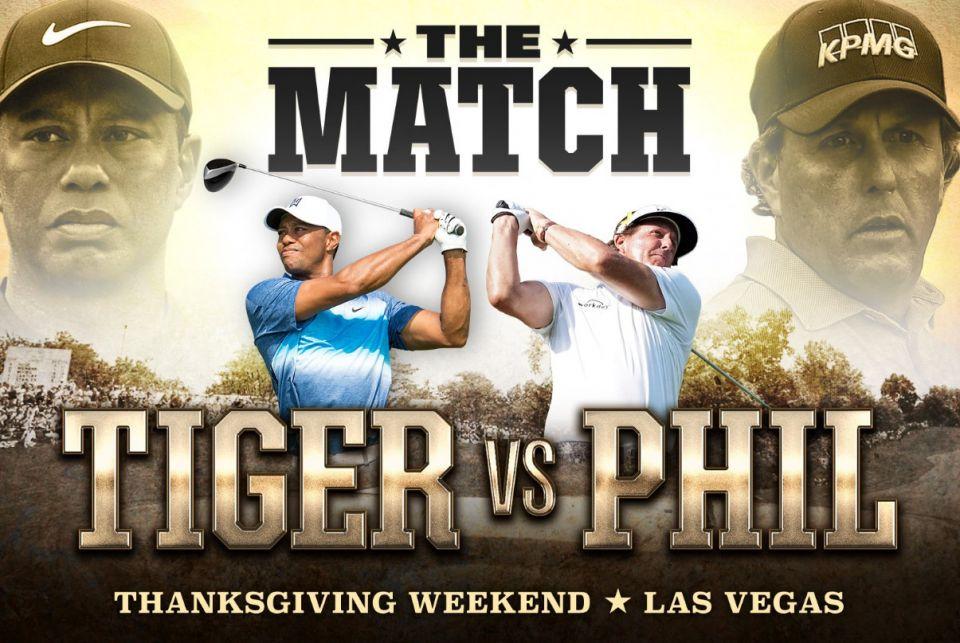 Tiger vs Phil