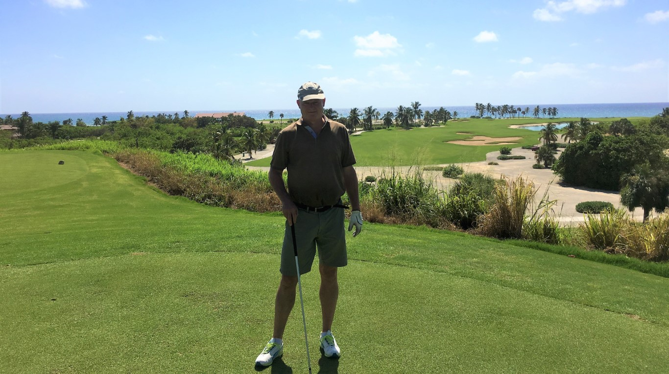 Erhöhter Abschlag - Punta Espada Golf Course
