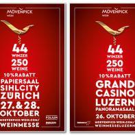Mövernpick Weinmessen Zürich und Luzern 2018