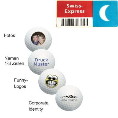 golfimport Logobälle