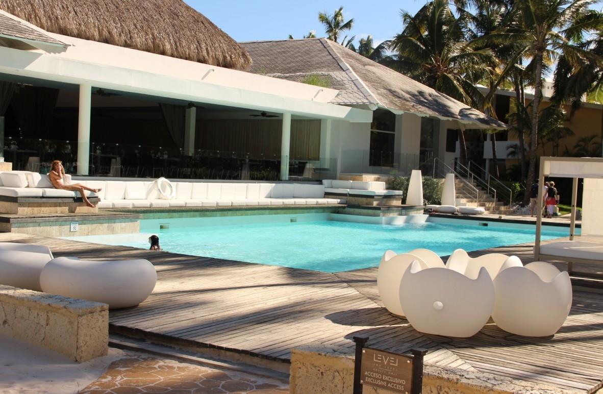 exkluisiver Bereich für Level-Gäste im Melia