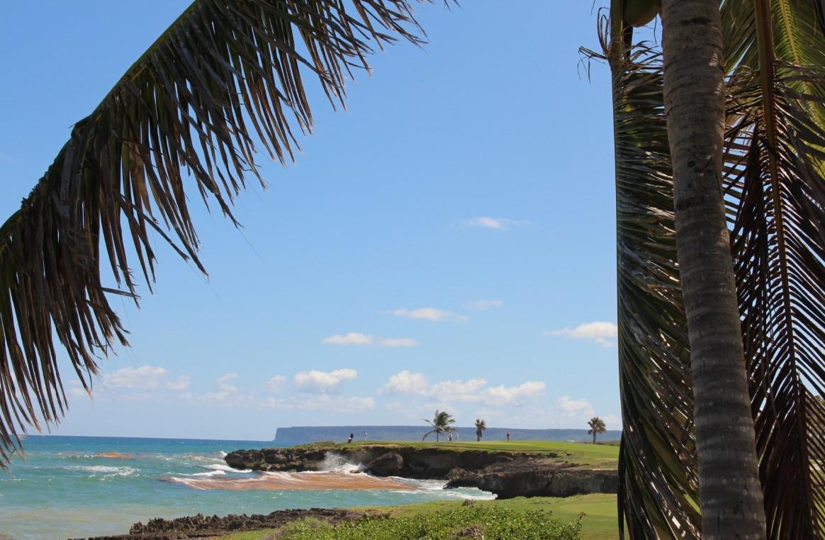 Punta Espada Palmen und Meer
