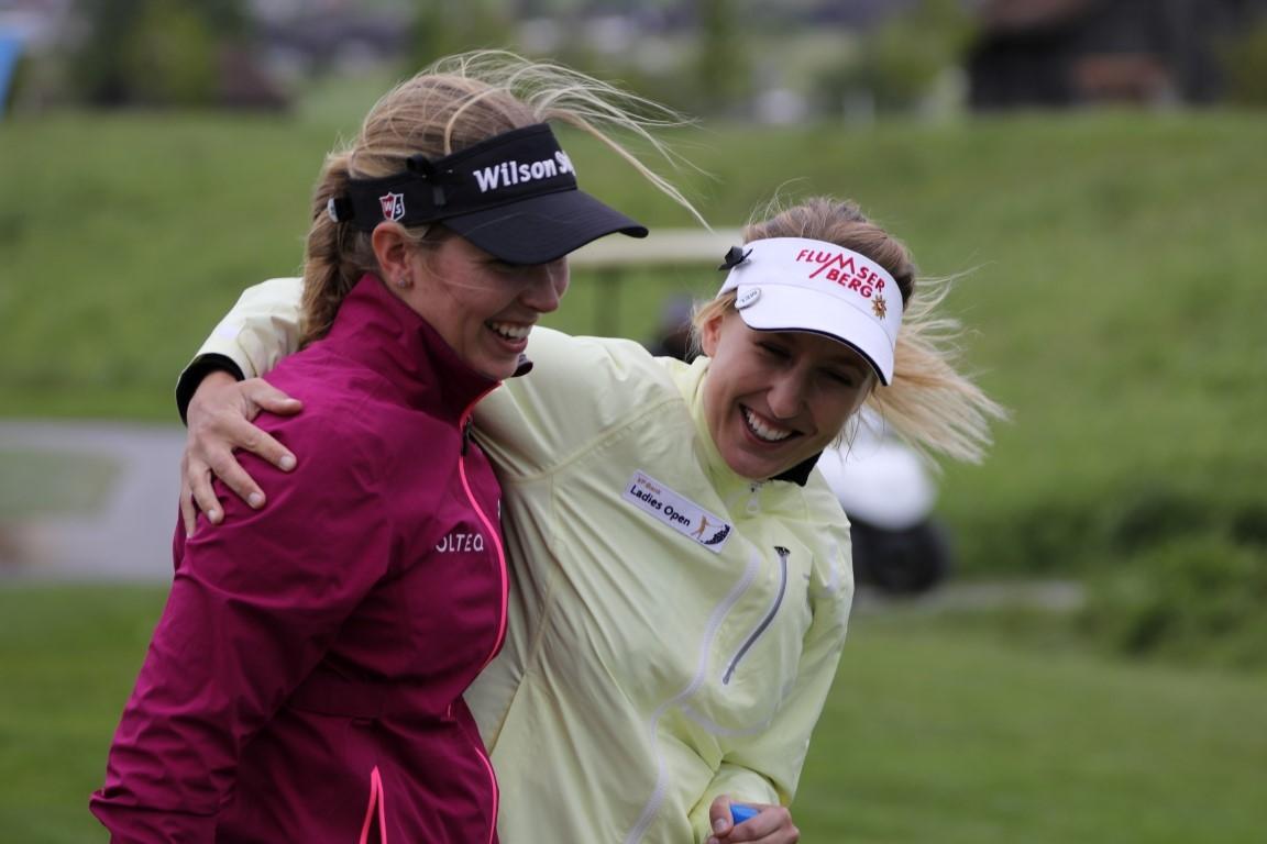 Linda Henriksson (FIN) und Melanie Mätzler