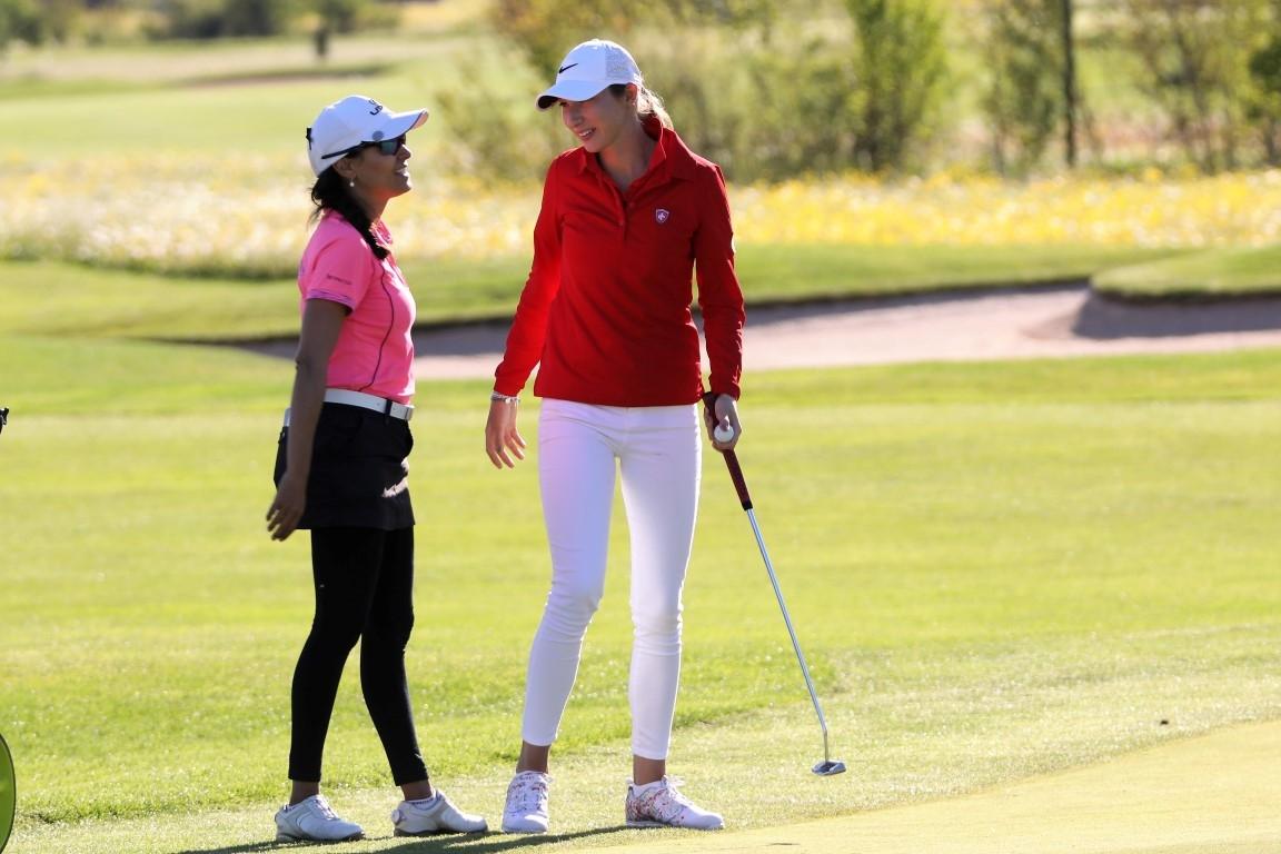 Victoria Lovelady (BRA) und Gioia Carpinelli (SWI)