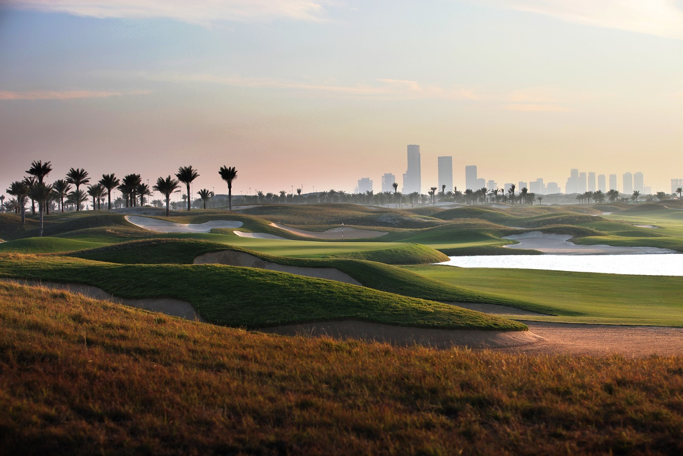 Abu Dhabi Saadiyat Beach Golf Club