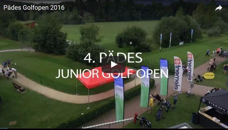 Pädes Junior Golf Open 16