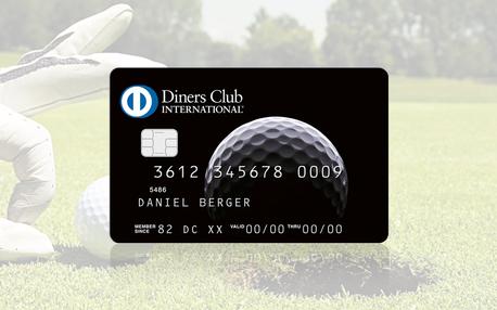 Diners Club Golf Card