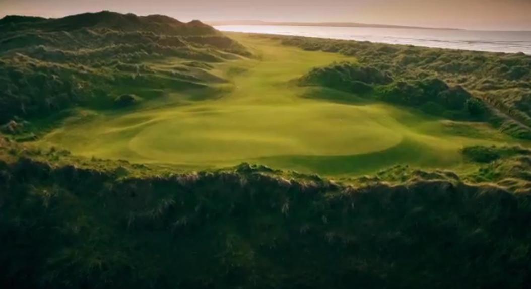 Irland Links Golf