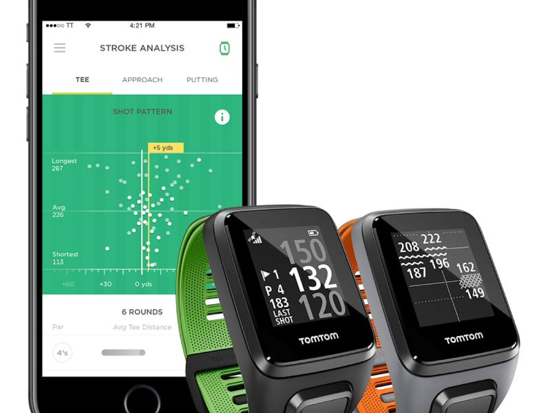 TomTom Golfer 2 mit activity tracking