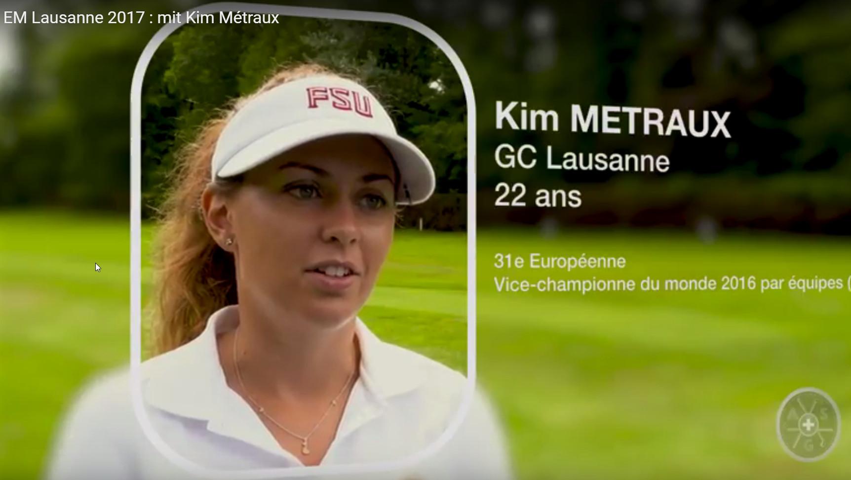 Kim Métraux Europameisterschaft Damen 2017 Lausanne
