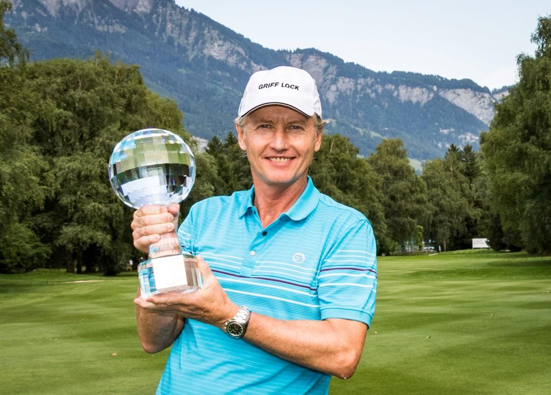 Swiss Senior Open 2017 Sieger Philip Golding