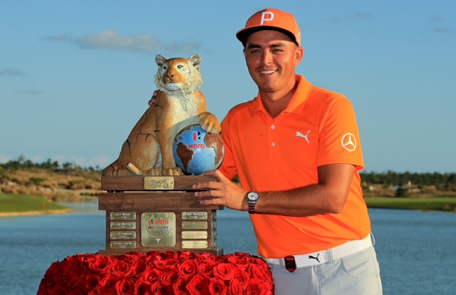 Rickie Fowler Hero World Challenge 2017