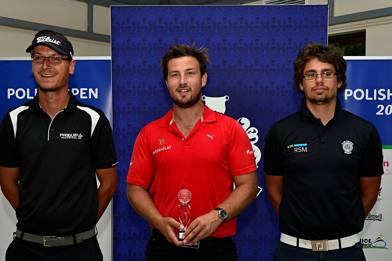Pro Golf Tour OndrejLieser_MathieuDecottigniesLafon_HinrichArkenau2@ShotsOnTheFairway (Mittel)
