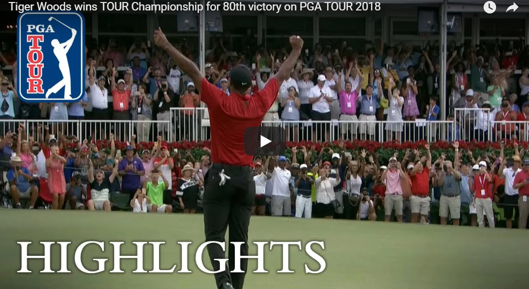 Tiger Woods Tour Championship 2018