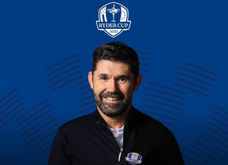 Padraig Harrington Captain European Team 2020