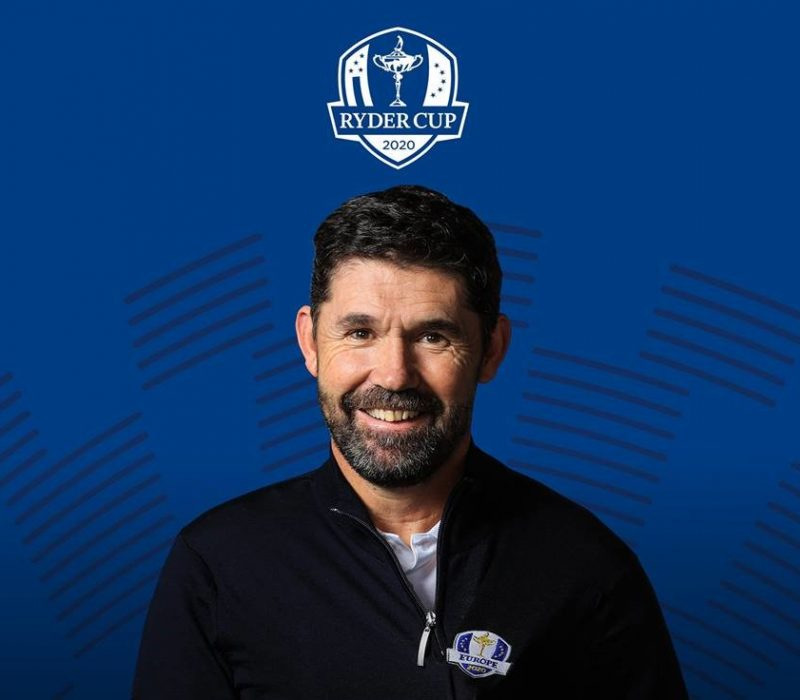 Padraig Harrington Captain European Team 2020