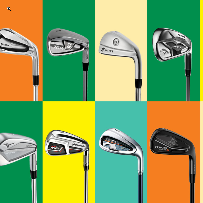 Golf.com Test Eisen Modelle 2019