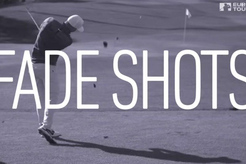 Alex Noren Fade Shots Instruktion