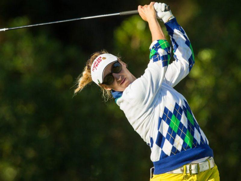 Melanie Mätzler, Turnierbotschafterin VP Bank Ladies Open
