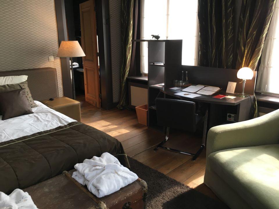 Zimmer im Hotel Le Tissue