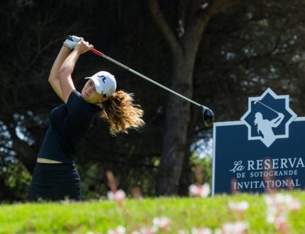 17/05/2019. Ladies European Tour 2019. La Reserva de Sotogrande Invitational, La Reserva Club de Sotogrande, Sotogrande. Spain 16-19 May 2019. Kim Metraux of Switzerland during the first round. Credit: Tristan Jones