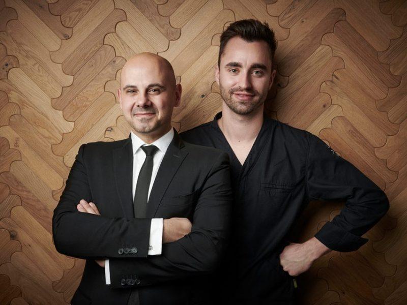 Restaurantleiter Francesco Benvenuto und Küchenchef Silvio Germann. Photo Credit: Grand Resort Bad Ragaz
