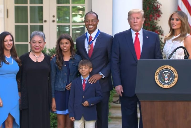 Tiger Woods Medal of Freedom