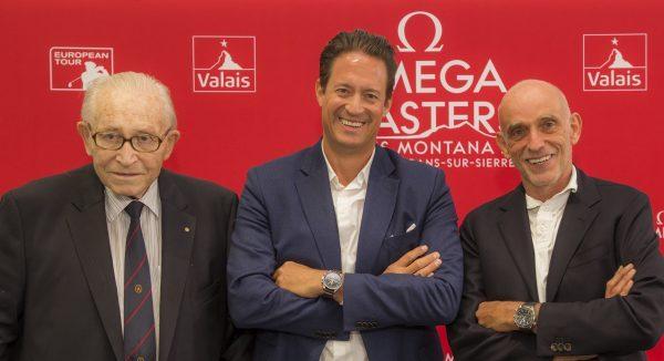 conférence presse sporting mit Gaston Barras, Yannick Jenny und Yves Mittaz