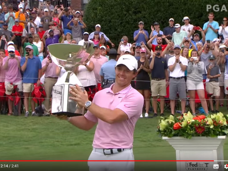 Rory McIlroy Fedex Cup 2019