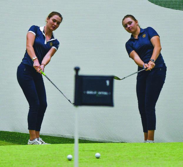Golf Vital Klara Wildhaber und Elena Moosmann