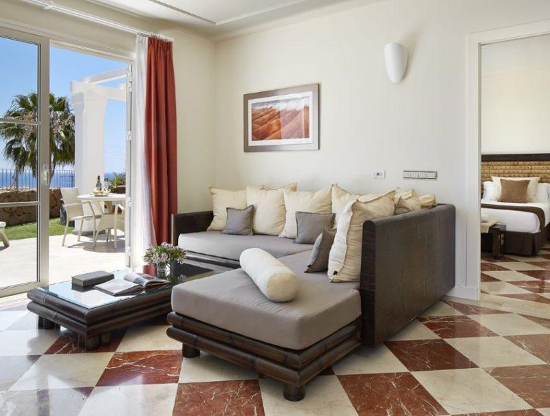 Hotel Suite Villa Maria Living Room in 3-Bett-Villa