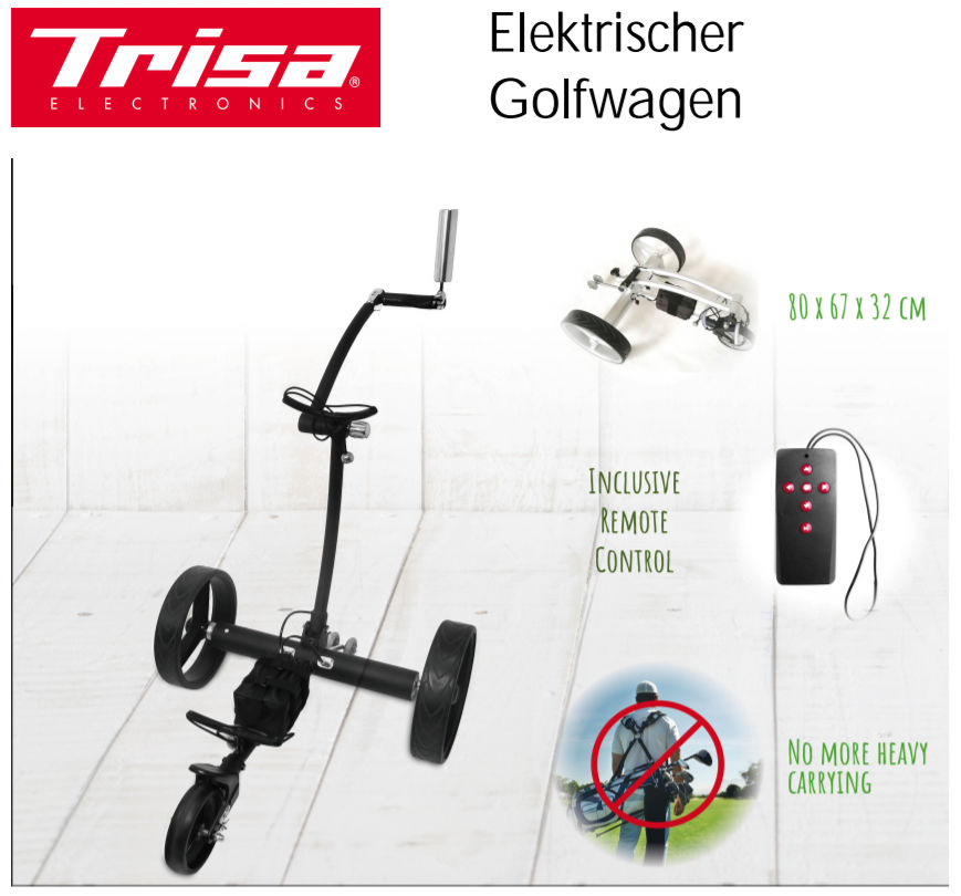 Trisa Golf Trolley