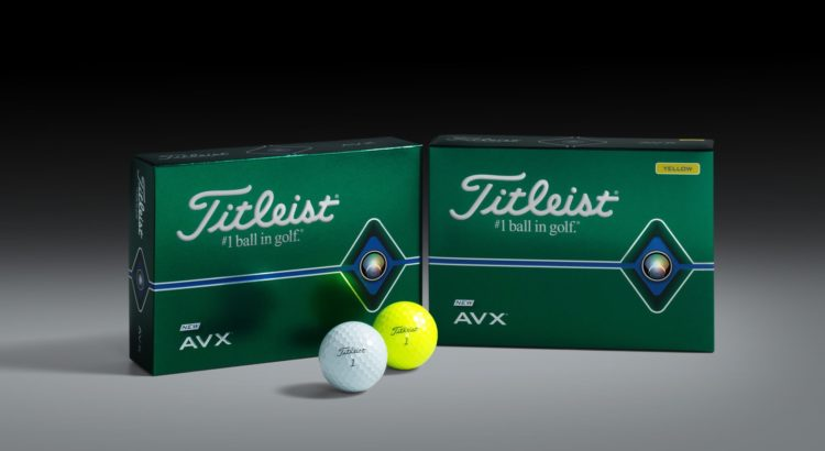 TITLEIST AVX Golfball