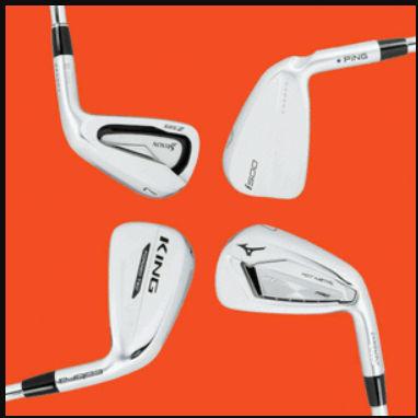 GolfDigest Hot List Players Distance Irons 2020