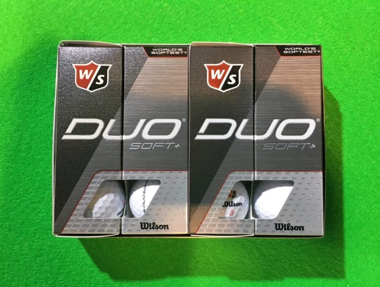 Wilson DUO Soft+ Golfball